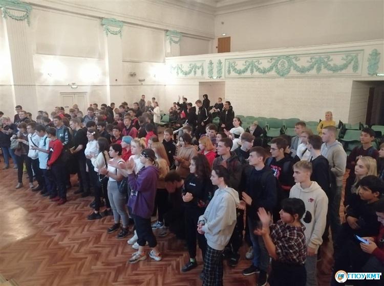 Посвящение в студенты свершилось!